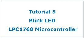 Blink LED with LPC1768 Featured