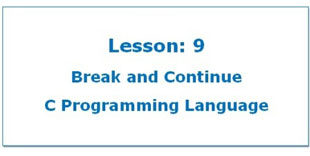 Break-and-Continue-in-C-Programming