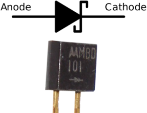 Circuit Symbol and Example of Schottky Diode