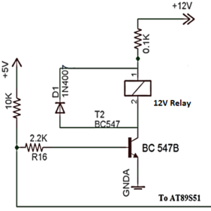 Diode in Microcontroller Based Circuit