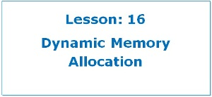 Dynamic Memory Allocation in C Programming