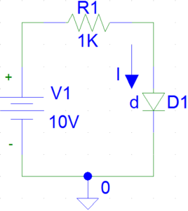 Example of Forward Biased Diode