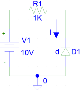 Example of Reverse Biased Diode
