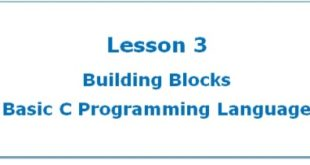 Basic C Program Structure