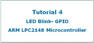 Featured Image LED LPC2148 ARM7 Microcontroller