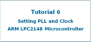 Featured PLL LPC2148 ARM7