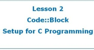 Setup Code Blocks for C Programming