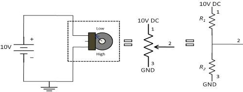 POT as Voltage Divider