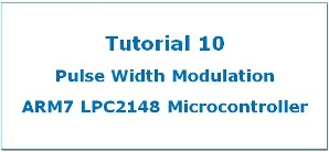 PWM In LPC2148 ARM7 Microcontroller