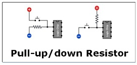 Pull-up and Pull-down Resistor Featured