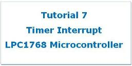 Timer Interrupt in LPC1768