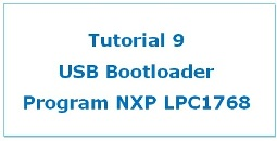 USB Bootloader in LPC1768 Tutorial